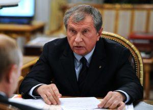 Сколько зарплата у Сечина в «Роснефти» в 2019 году